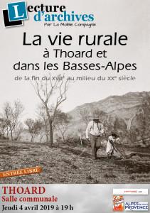 2019 04 04 Vie rurale Thoard