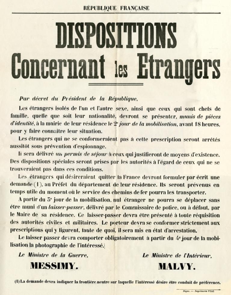 5R31 Affiche 1914-1918