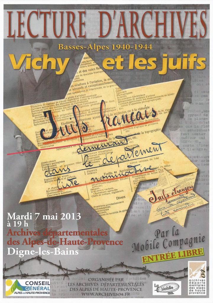 Vichy et les juifs 2013