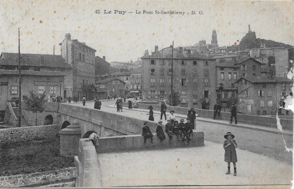 carte postale le Puy crédit geneanet.org